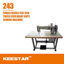 Keestar 243 heavy duty walking foot upholstery sewing machines for sale