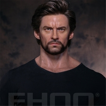 Simulated custom action wax figure of wolverine