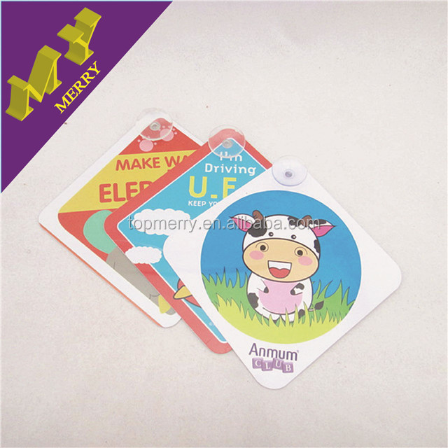 Giveaways gifts baby on board sign / car sticker wholesale