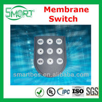 Smart bes~Stable Quality poly dome switch keyboard,metal dome membrane switch key pad,metal dome switch
