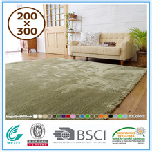 polyester softextile machine washable carpet rug living room of germany