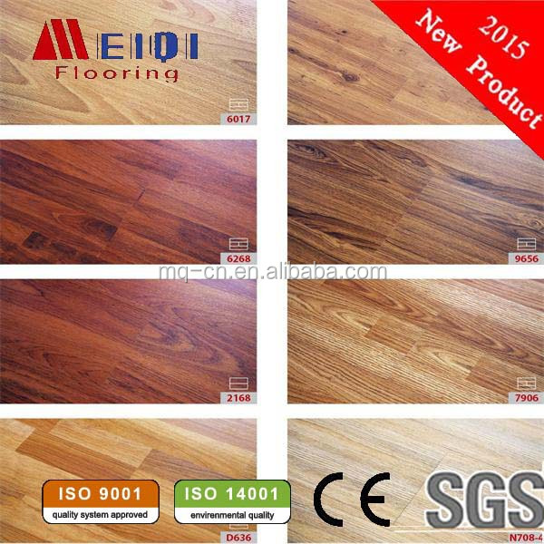 Newest MeiQi wooden waterproof ldhf laminated floor