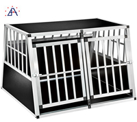 Shanghai Brilliance factory price folding pet carrier crate/aluminum dog cage/rabbit cages