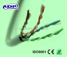 hot sale shenzhen ADP high quality 4 pair UTP cat5e lan cable