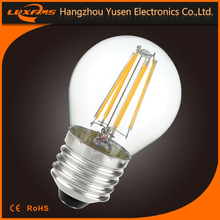 new products 6W compare led filament bulbs