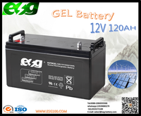 Export High quality lead acid 12V 120AH maintenance free gel battery