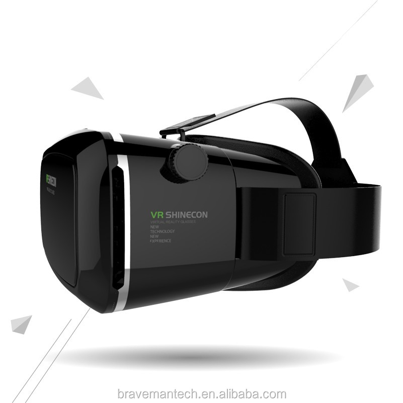 Comanro 3D glass headsets with RoHs certificate for video and 3D film for Iphone and Samsung