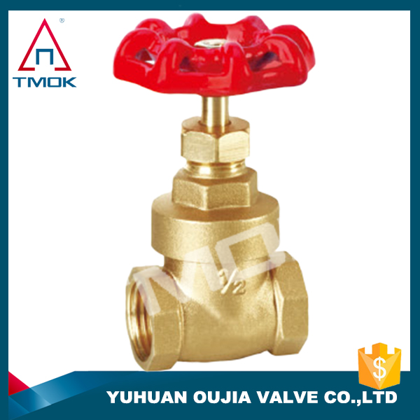 brass gate valve manufacturer with certificate full flow female brass gate valve 4 gate valve part