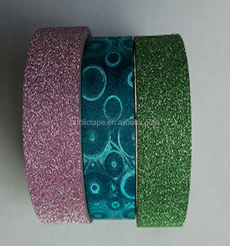 Lovely Crafts Corrosion Resistant DIY Glitter Decoration Adhesive Tape
