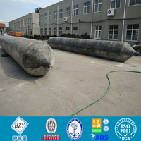 Best quality marine rubber air bags for ship launching