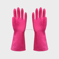 high temperature silicone latex gloves/women gloves waterproof heat resistant gloves