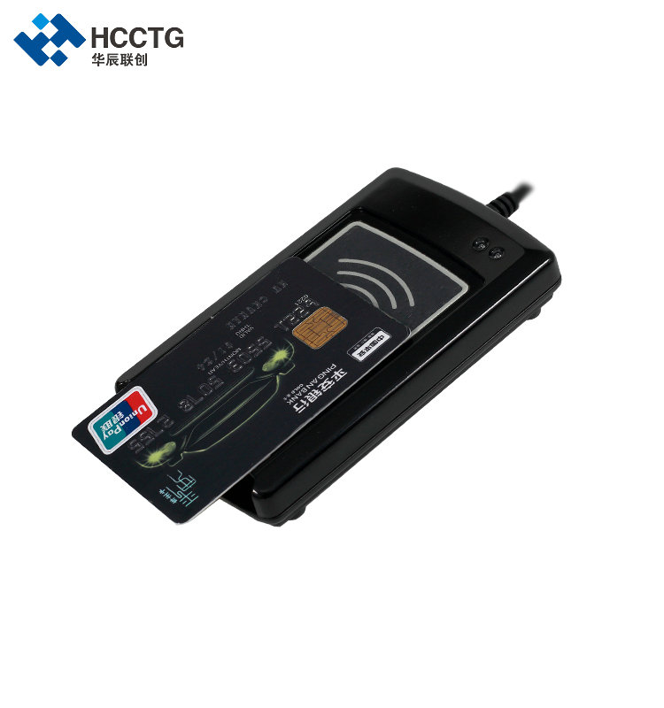 PC SC Compliant Contact / Contactless Smart Card Reader ACR1281U-C1