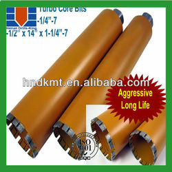 450mm length concrete hole making tool/diamond core drill bit for concrete