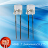 Red LED 5mm Flat Top Light Emitting Diode Water Clear Lens