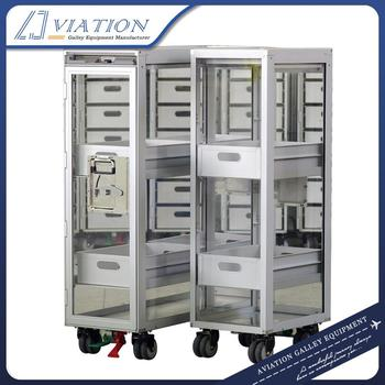 Movable Transparent Exhibition Trolley / Show Cart / Movable Show Counter