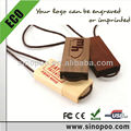 Wooden USB Flash drive with rope