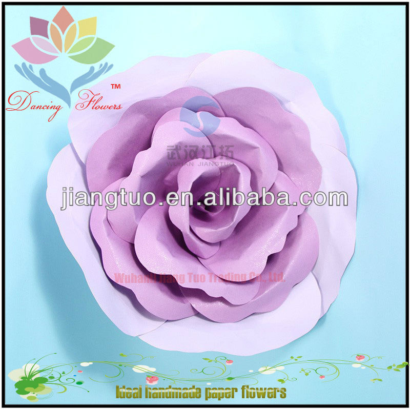 Beautiful Scrapbook coral colored flowers
