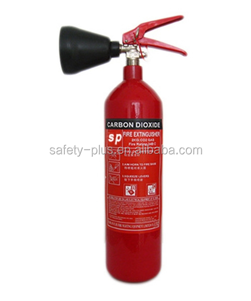 Manufacture direct sale carton steel / alloy steel Portable CO2 spray fire extinguisher