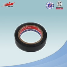 excellent insulation black PVC film 0.15mm self adhesive electric tape with factory price