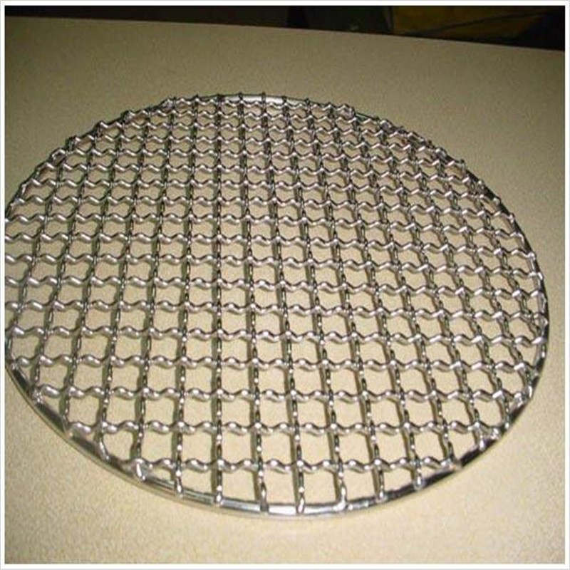 Round holes grilling barbecue bbq wire mesh