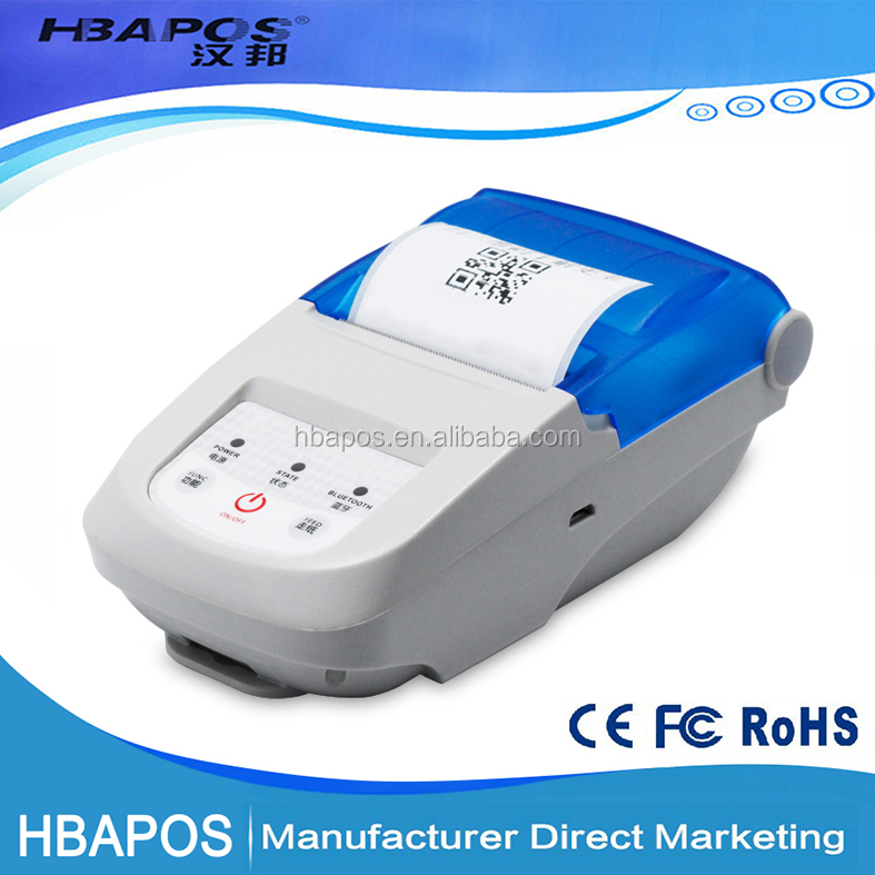 HBA-P58L Sticker label Support Portable 58mm Thermal Receipt Bluetooth Printer