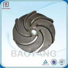 China Pump Sand Casting Cast Iron Air Blower Impeller