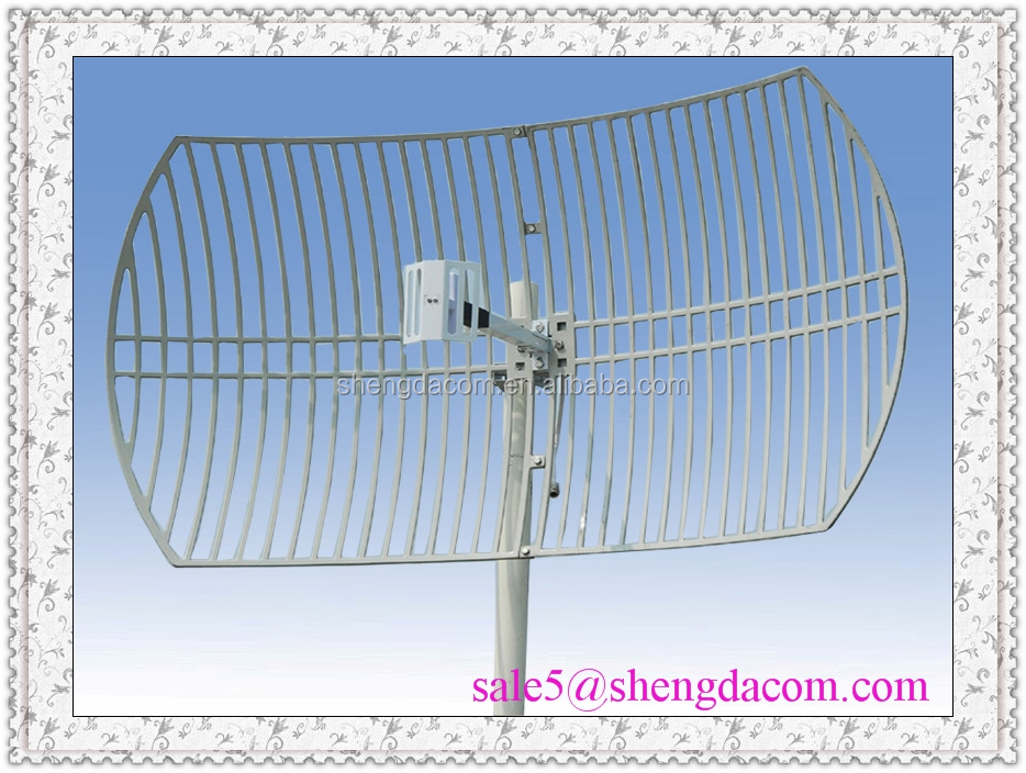 5.8GHz high gain 30db Aluminum alloy Grid Parabolic Wifi and WiMax and WLAN Antenna