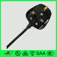3amp UK BS plug assemble 3 pin plug with fuse for sale