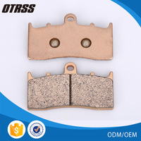 Environmental protection and long service life copper disc brake pad for BMW