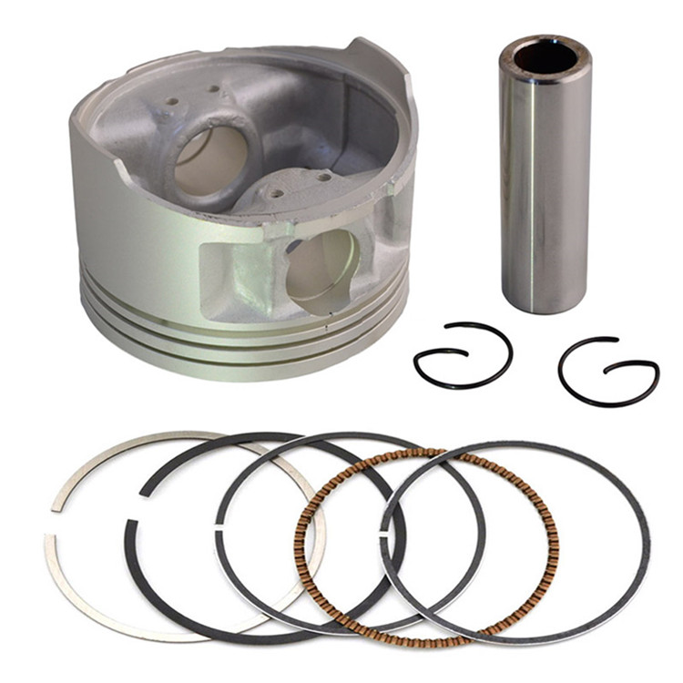 Piston Ring Kit Replaced for Yamaha TTR250 1999~2006 Engine Piston