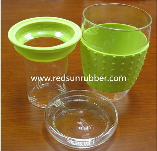 food grade glass silicone sleeve