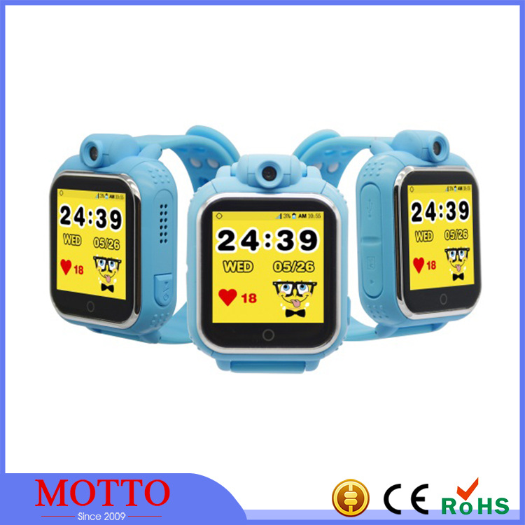 Child 3G hand watch mobile phone with GPS