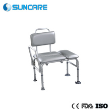 Commode/Shower Chair Lightweight and durable Aluminum frame