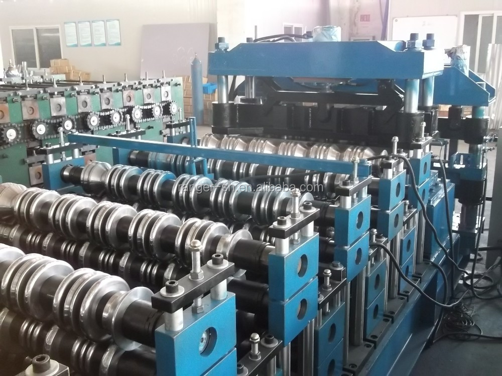 China Double Layer Corrugated Roof Tile Sheet Making Roll Forming Machine Hot sale!!!