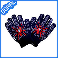 CHILDRENS MULTI STRIPE MAGIC GLOVES GIRLS