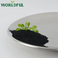 150 mesh powder state high soluble agro chemicals humic acid and fulvic acid compost shiny powder fertilizer