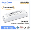 KEGU R08 24-40W (Flicker-free) with TUV CE SAA 350mA Constant Current LED Driver