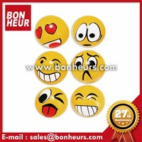 Happy Face Emoji Toy Hot Selling Rubber Stress Splat Ball