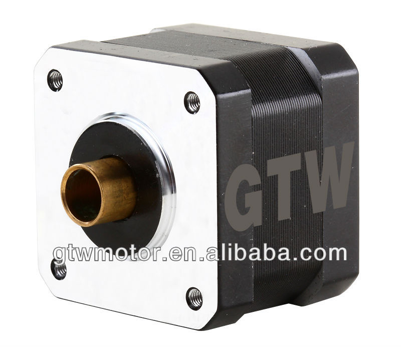 NEMA 42 hollow shaft stepper motor