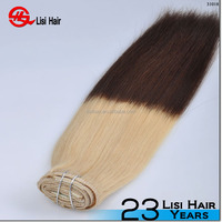 2016 Best selling clip in hair extensions wholesale no shedding remy human hair full cuticle youtube sex clip