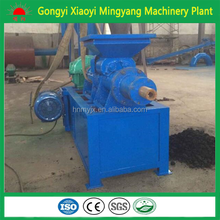 BBQ charcoal powder and coal briquette making machine/charcoal rod machine/charcoal powder extruder