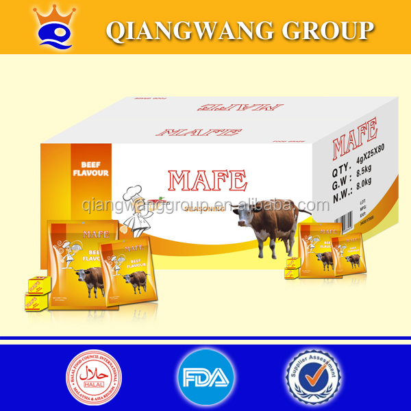 AFRICA HALAL BOUILLON CUBE BEEF STOCK CUBE 4G/TABLET