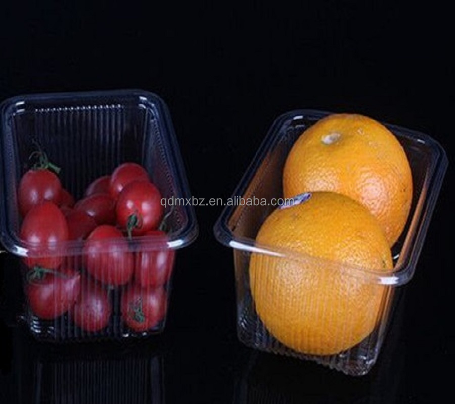 Disposable fruit use plastic cherry container