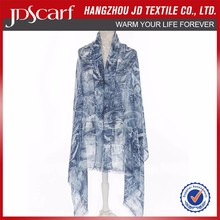 Fashion Cheap Spring Summer exclusive printed shawls