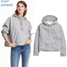 High Quality Quick Dry Plain ladies Sweater with hood ladies beautiful sweaters winter warm cotton Hooded sweater