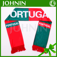 Free Shipping High Quality Football Souvenirs Soccer Football Club Fans Gift Portuguese Scarf