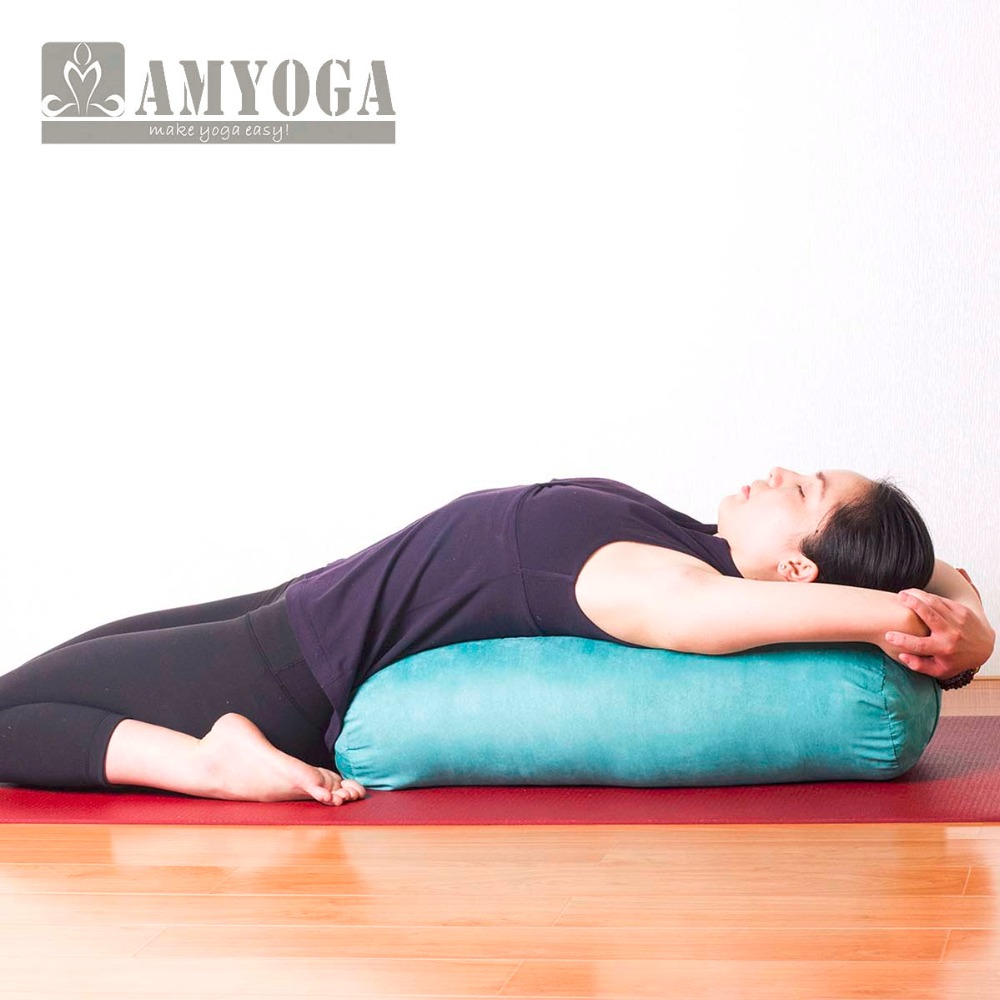 how to make a bolster pillow for yoga