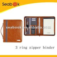 Custom Leather Canvas/Nylon Folder