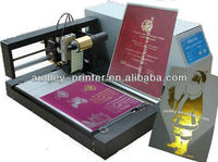 ADL 3050C plateless digital foil plastic cover printing machine manufacturers with A4 size/CE