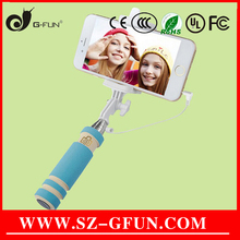 Best Quality Travel Party Concert Photograph Monopod Lady Used Wired Selfie Stick For i5/i6/6s Made-In-China